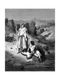 Tobias with the Archangel Raphael, 1865-1866