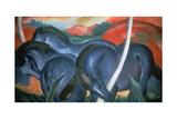 Blue Horses, 1911