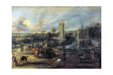 Tournament in Front of Castle Steen, 1635-1637