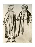 Two Turks Walking, 1913