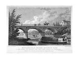 Macclesfield Bridge, Regent's Park, Marylebone, London, 1827