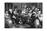 The Harlot's Progress, 1733
