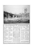 London Bridge, 1921