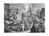 Southwark Fair, 1733