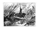 Richard I, Coeur De Lion at the Battle of Arsuf, 1191