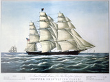 Clipper Ship Flying Cloud, 1851-1907