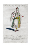 Habit of a Lady of Quality in Barbary, 18th-19th Century