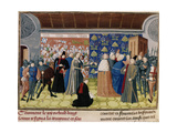 Richard II Surrendering the Crown, 1399