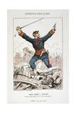 Garde Mobile, Officier, Siege of Paris, 1870-1871