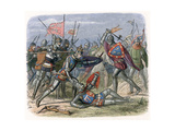 Battle of Crecy, France, August 1346