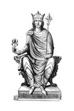 Statue of Philip Augustus, King of France, 13th Century