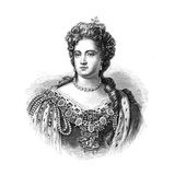 Anne, Queen of Great Britain and Ireland from 1702, 1880