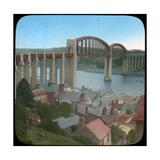 Royal Albert Bridge, Saltash, Cornwall, Late 19th or Early 20th Century