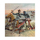 After the Battle of Crecy, 1346