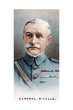 Robert Nivelle, French General, 1917