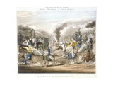 The Progress of Steam, a View in Regent's Park, 1831
