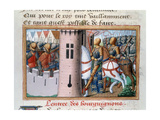 Entry of the Bourguignons to Paris, May 1418, (148)