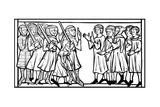 Christian Prisoners Taken During a Crusade, 13th Century