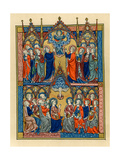 Ascension and Pentecost, 1290-1300