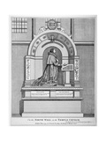 Monument to Richard Martin, Recorder of London, Temple Church, City of London, 1794
