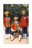Officers of the 15th Ludhiana Sikks, Indian Army, India, 1922