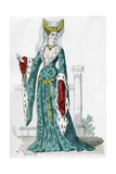 Noblewoman of the Time of Charles VI of France, 1380 (1882-188)