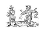 William Kemp or Kempe, Elizabethan Comedian, 1600