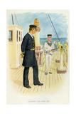Royal Navy Lieutenant and Signal Boy, C1890-C1893