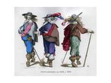 French Gentlemen's Costume, 1615-1630