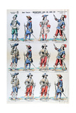 French Army, Musketeers of Louis XIII and Louis XIV, 17th Century