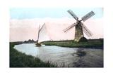 A Windmill on the Norfolk Broads, Norfolk, 1926