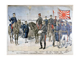 Uniforms of the Japanese Army, Manchuria, 1904