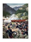 Battle of Busaco, Peninsular War, Portugal, September 1810