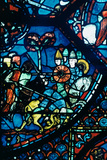 Battle of Sahagun, Stained Glass, Chartres Cathedral, C1225