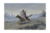Ivan Tsarevich Riding the Gray Wolf, End of 1870S-Early 1880S
