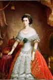 Portrait of Elisabeth of Bavaria, 1856