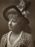 Lydia Thompson, British Dancer, Actress and Theatrical Producer, 1886
