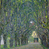 Avenue in the Park of Kammer Castle, 1912