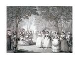 The Garden of Carlton House, London, 1784