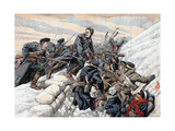 Russian Attack on the Japanese Trenches, Russo-Japanese War, 1904-5