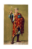 Lothaire, King of France from 954, 19th Century