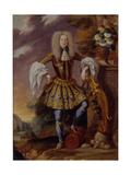 A Man in Fancy Dress, Early 18th C