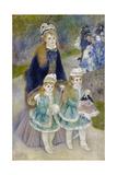 Mother and Children (La Promenad), 1874-1876