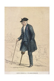 A Greenwich Pensioner with One Leg, 1855