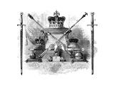 The Regalia of England, C1820