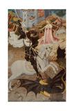 Saint George Killing the Dragon, 1434-1435