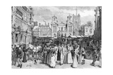 The Market Place, Kingston Upon Thames, Surrey, 1890