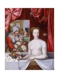 Gabrielle D?Estrees in the Bath, C. 1598
