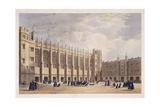 Christ's Hospital, London, C1825