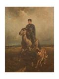 Grand Duke Vladimir Alexandrovich of Russia (1847-190) on the Hunt, 1890S